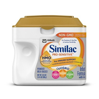 Similac Pro-Sensitive Non-GMO Infant Formula, 22.5 Ounces