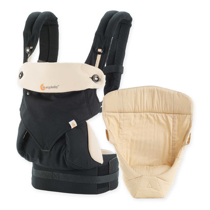 Satya ian davies baby blueprint registry ergobaby 2016 four position 360 carrier bundle of joy baby carrier in black malvernweather Image collections