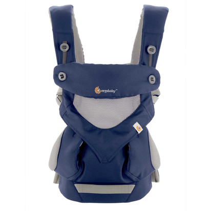 Ergobaby 360 Cool Air Mesh Baby Carrier in French Blue