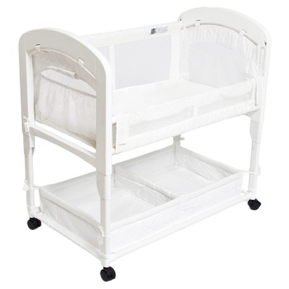 Arm's Reach Co-Sleeper® Bedside Sleeper - White