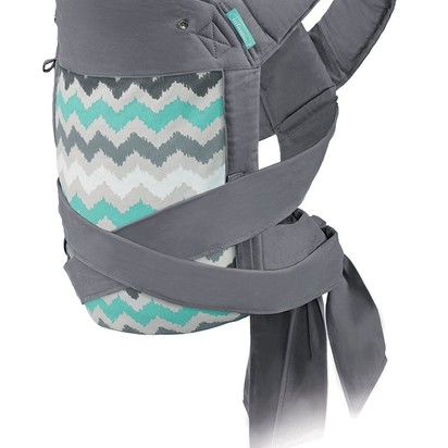 Infantino Sash Wrap and Tie Mei Tai Baby Carrier