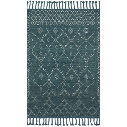 Magnolia Home by Joanna Gaines Tulum Rug - Blue, 8'6