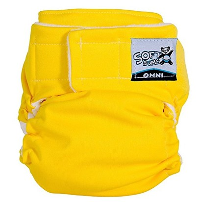 SoftBums Omni Shell with Hook and Loop Cloth Diaper