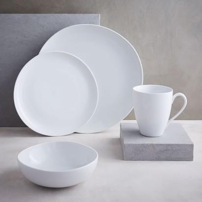 Organic Shaped Dinnerware - Set of 16