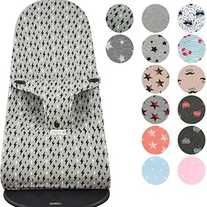 Amy and nick davidovac bambino blueprint registry amazon babybjrn balance bouncer cover liner dark sky by janabebe baby malvernweather Images