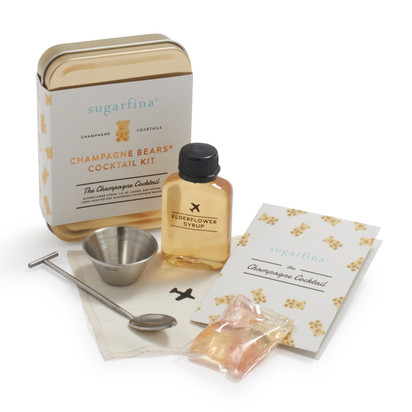 W&P and Sugarfina Carry-On Champagne Cocktail Kit