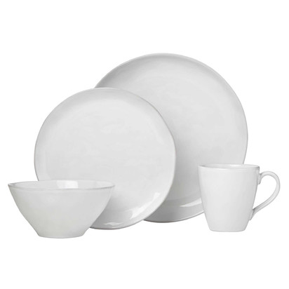 Lenox® French Carved™ Organic 16-Piece Dinnerware Collection in White