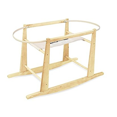 Megan rigsby baby blueprint registry amazon rocking moses basket stand natural bassinet stand baby malvernweather Image collections