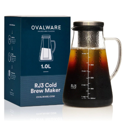 Ovalware 1L Cold Brew Coffee Maker