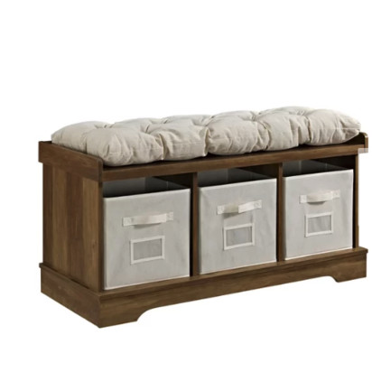 Liller Wood Storage Bench
