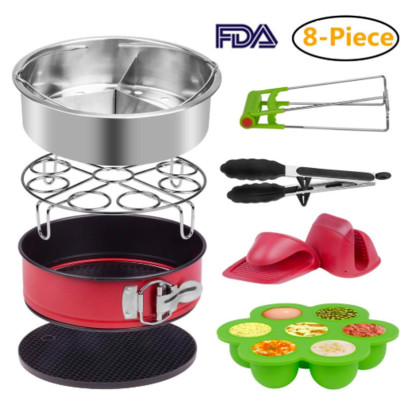 Accessories Set for Instant Pressure Cooker of 5, 6 & 8Qt