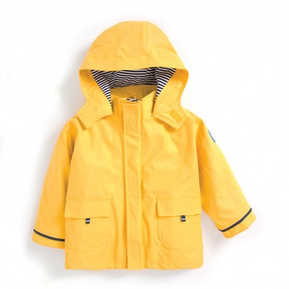 Children's Fisherman's Jacket - Yellow, 12-18 months